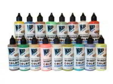 KED Window Color Farbe, 80 ml Flasche