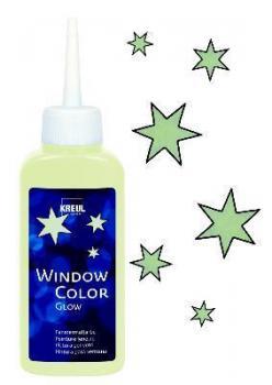 KREUL Window Color Nachtleuchtfarbe, 80ml