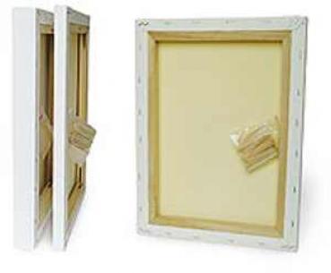 window color bastelbedarf g nstig kaufen mini keilrahmen 4er set. Black Bedroom Furniture Sets. Home Design Ideas