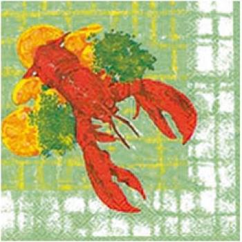 motiv-serviette-lobster