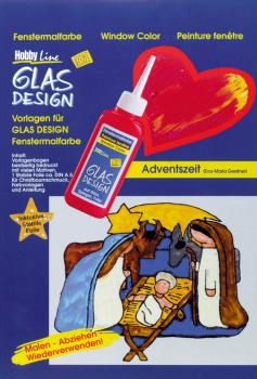 "GLAS DESIGN Vorlagenmappe ""Adventszeit"""