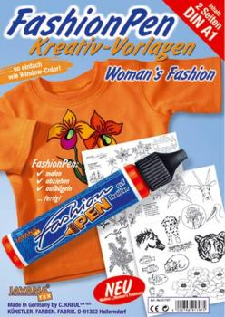 Fashion-Pen_Kreativ-Malvorlagen