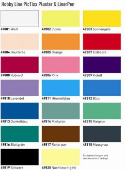 window color bastelbedarf g nstig kaufen pic tixx pluster pen liner pen. Black Bedroom Furniture Sets. Home Design Ideas