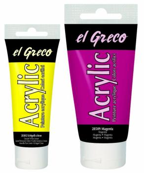 Acrylfarbe, el Grego, 75ml