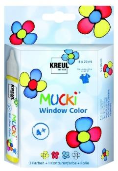 kreul-mucki-window-color-4er-set
